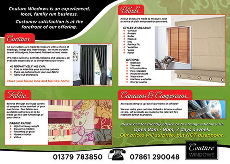 A4 4pp Brochure Inside