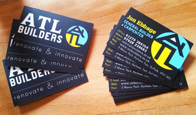 ATL Builders Business Cards