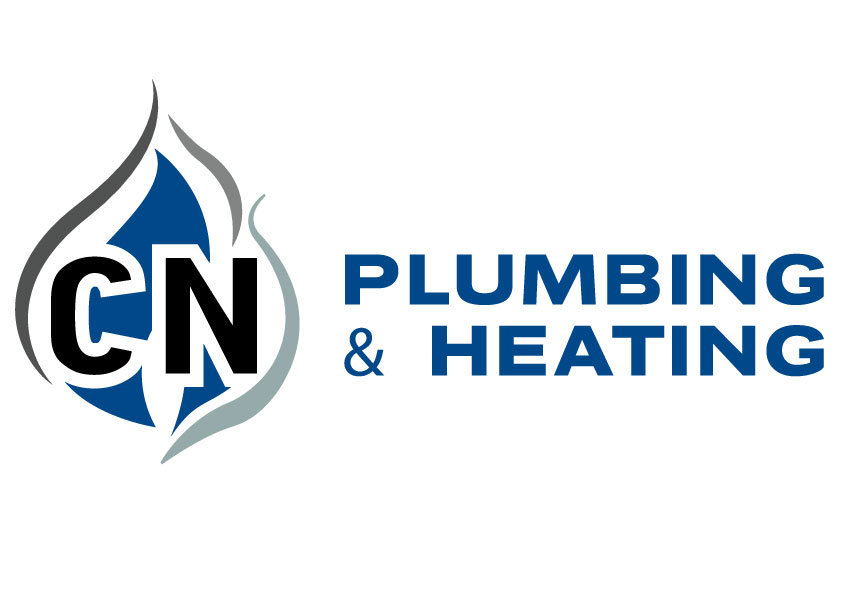 CN Plumbing and Heating logo design