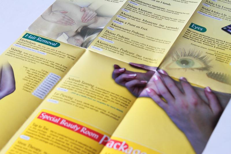 Carla A3 Fold Out Brochure