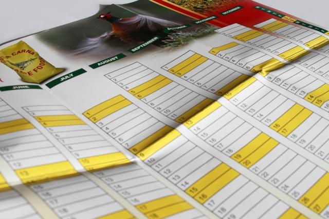 Carta Carna Wall Planner