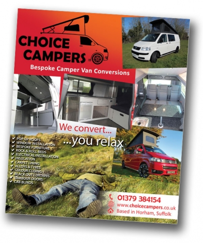 Choice Campers Advert
