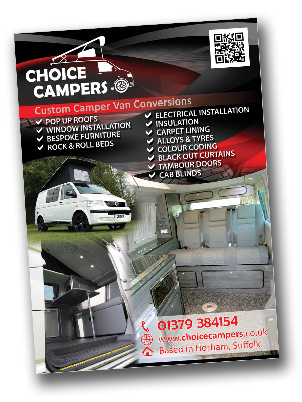 Choice Campers Flyer