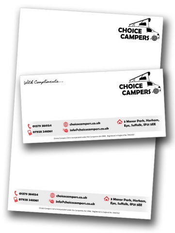 Choice Campers Letterhead