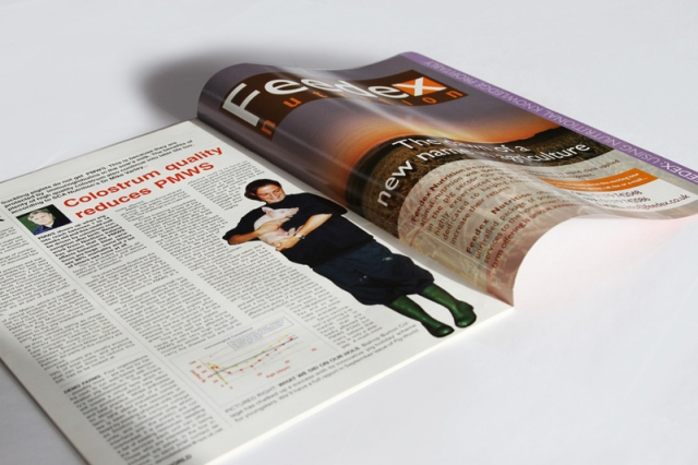 Feedex Magazine Advertising
