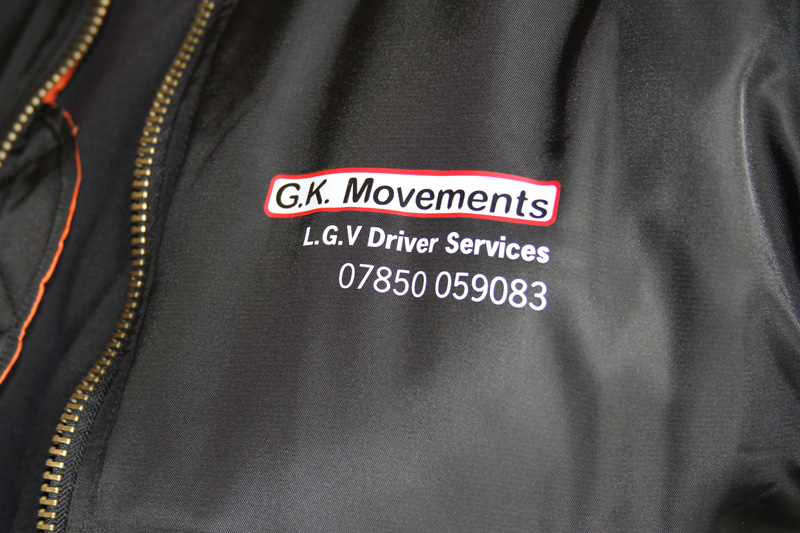 GK Movements Branded Jacket