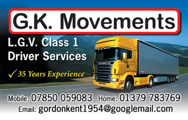 GK Movements Business Card