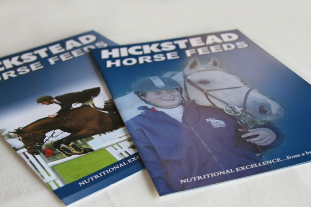 Hickstead Horse Feeds Brochures