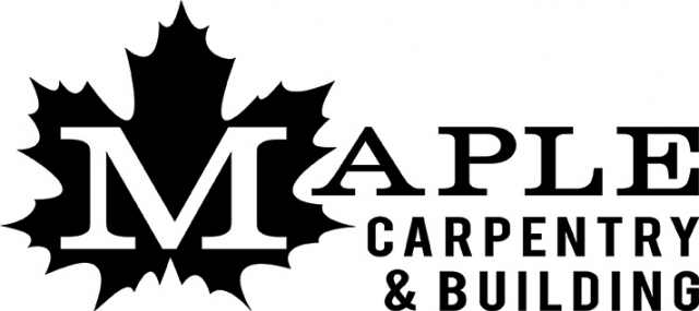 Maple Carpentry & Building logo design