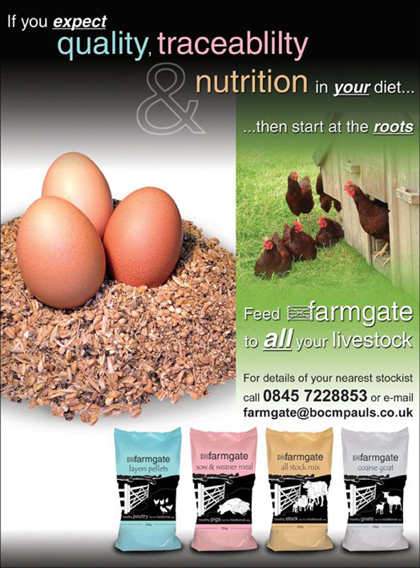 Smallholder Full Page Advert