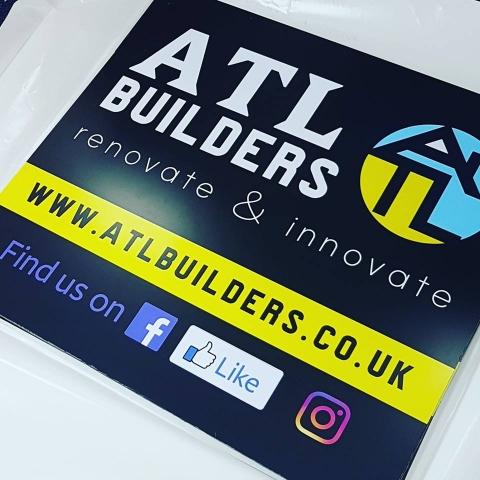 ATL Builders signage