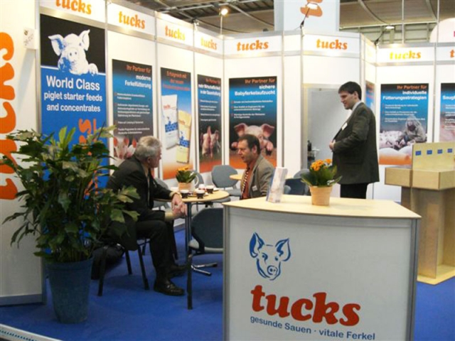 Tucks Exhibition in Germany