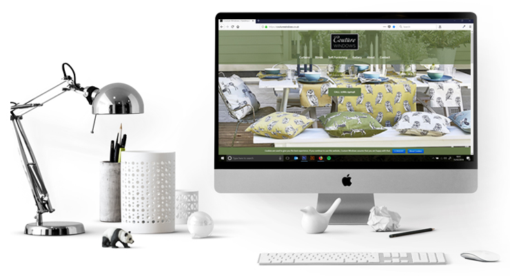 Couture Windows website design, hosting & email