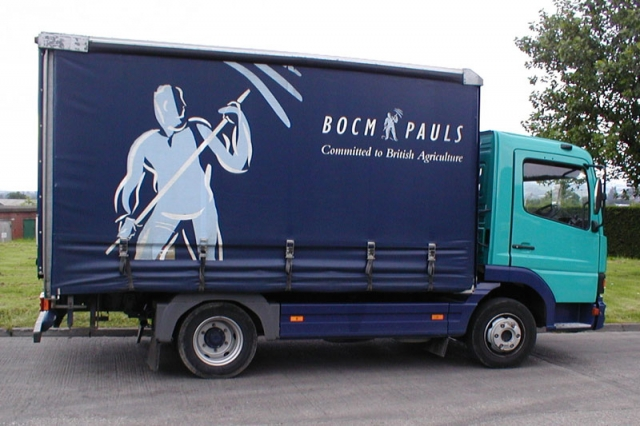 BOCM PAULS Lorry Livery