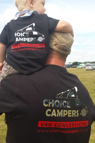 Choice Campers Corporate Clothing