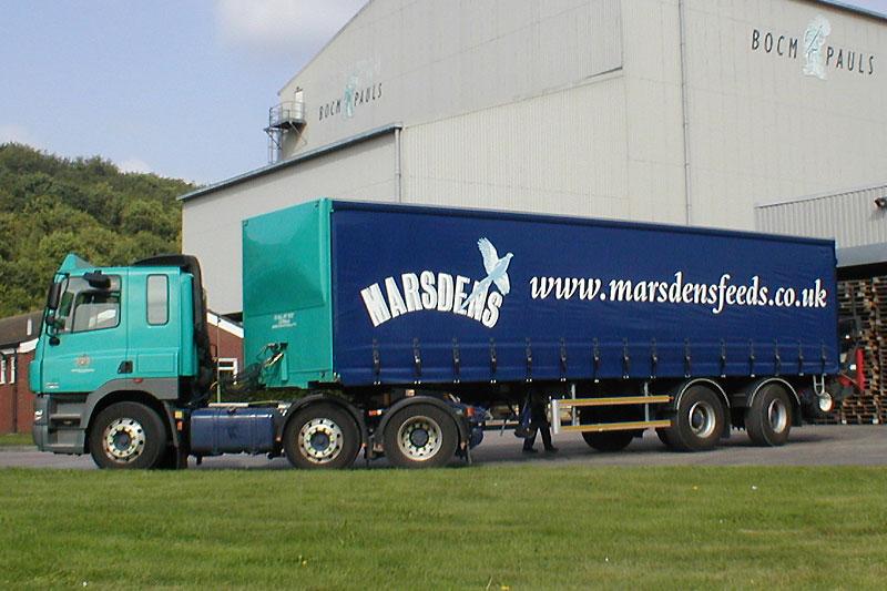 Marsdens Lorry Livery