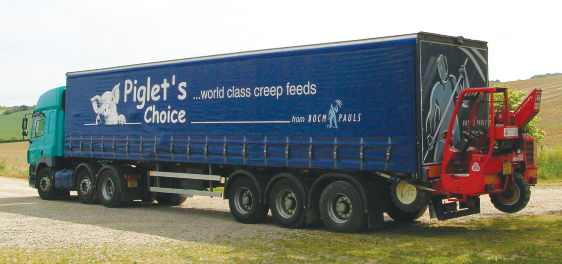 Piglets Choice Lorry